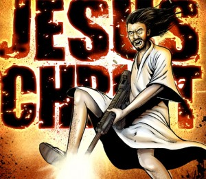 jesus with guns